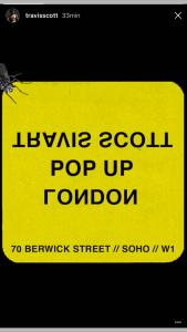 LONDON POP UP